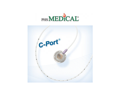 C-Port® | Sistema venoso de lúmen único
